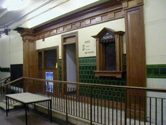 Ticket hall