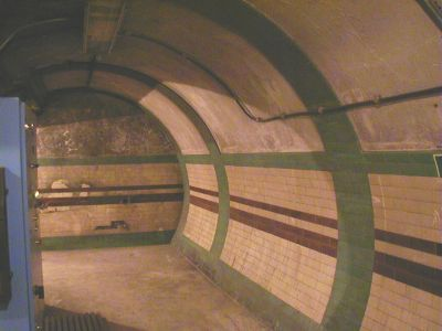 Original Charing Cross Bakerloo lift concourse
