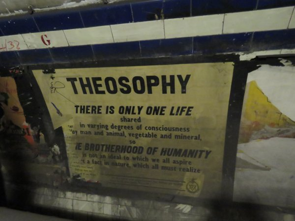 Theosophy poster