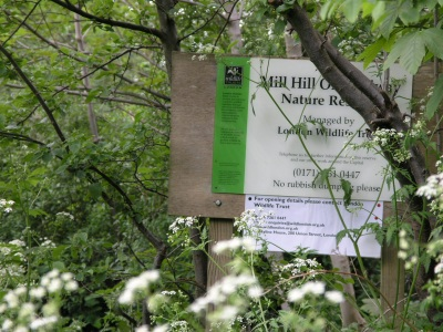 The start of the nature reserve