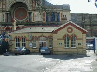 Original station building