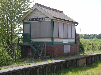 North Weald signal box