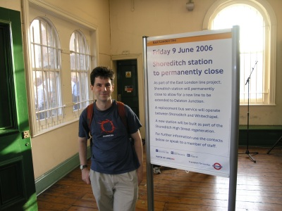 Station booking hall