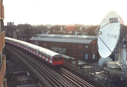 Original location of Hammersmith and City station